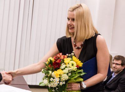 Hevesi Endre-díj átadása a Magyar Újságírók Országos Szövetségénél