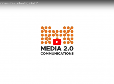Media 2.0 Communications – rebranding animáció